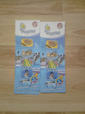 aquapark costa teguise free child vouchers x 2