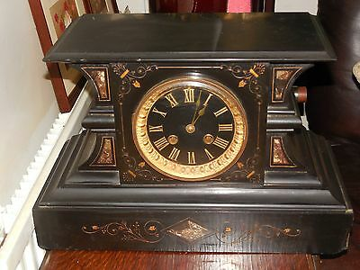 Antique S Marti Et Cie Mantel Clock
