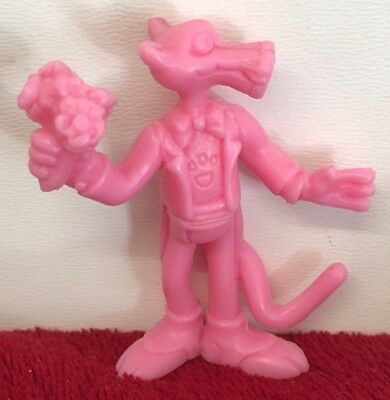 Pink Panther Figure Yolanda Plastic 5.5cm Bunch of flowers Germany