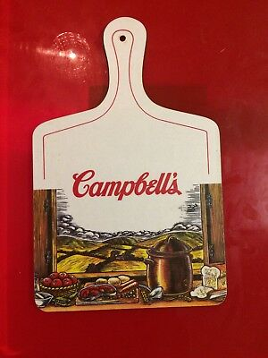 Vintage Campbell's Soup Collectors Chopping Board. Used/Good Condition for Age
