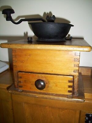 Antique Coffee Mill    Reduced Price