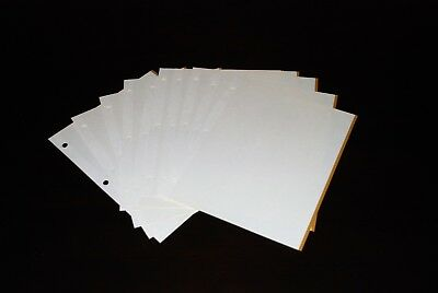 """Picture Photo Album 10 Magnetic Refill Sheets (20 pages) 9"""" x 11"""""""