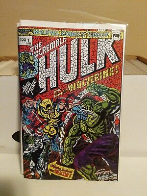 Hulk #181 Shattered Variant Hunt For Wolverine #1 Nm