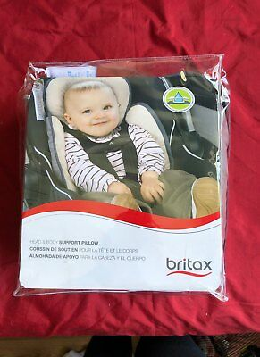 Britax Head and Body Support Pillow S864900 Iron/Gray - NEW -