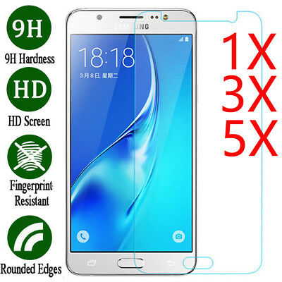 5X Tempered Glass Film Screen Protector Cover For Samsung Galaxy J2 J3 J5 J7 Pro