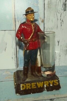 Drewry's Vintage Figurine Showing Wear Value Priced $25 Shipped!!