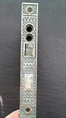 Elaine Reading RHC Antique Victorian Brass Bronze Door Mortise Exterior Lock