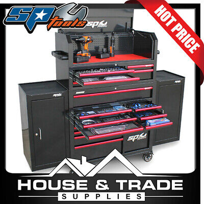 SP Tools Tool Kit 530 Piece Metric/SAE Sumo Series Power Hutch SP50555