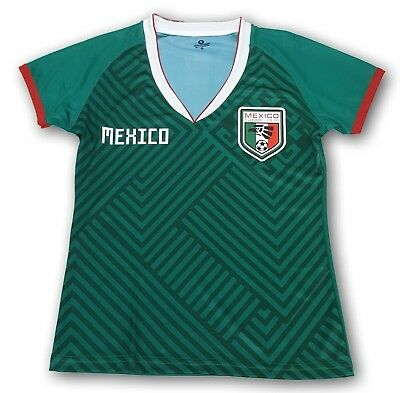 c6bfde75be1 Mexico Women's Home Soccer Jersey Regular Fit 100% Polyester Mudial 2018