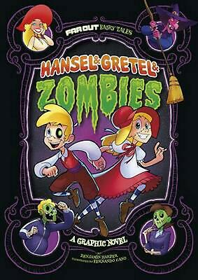Hansel & Gretel & Zombies: A Graphic Novel by Benjamin Harper (English) Library