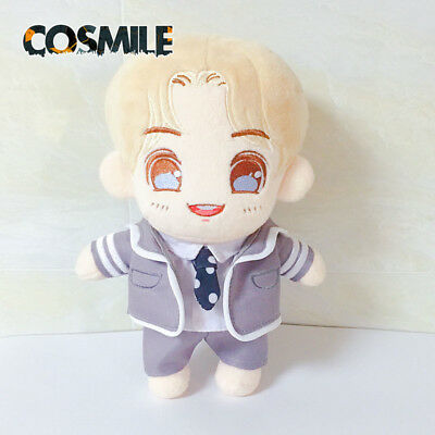 Limit Idol Producer August Center Cosplay Toy Doll + 2pcs Clothes Nine percent