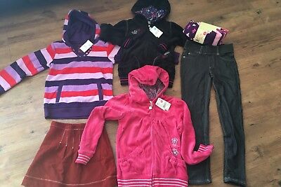 6x Girls Size 7 items incs Pumpkin Patch Jackets, Jumper, Pants & Milly Skirt
