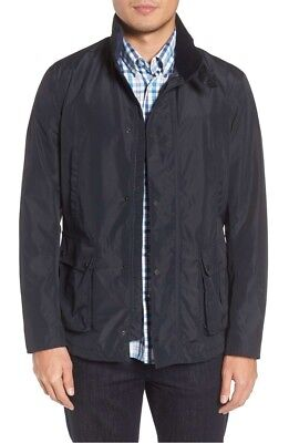 NWT $299.99 Barbour Men's Severn Waterproof Jacket in Blue MWB0607NY71 Sz XL