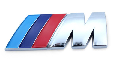 Car Accessories Emblem Badge For BMW M-Power  ///M-Power Badge Emblem Sticker