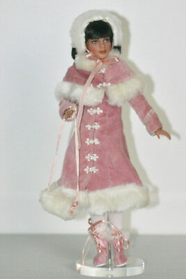 "12"" Alice OUTFIT WINTER WONDERLAND pink coat boots hat muff Marley Agnes RARE"