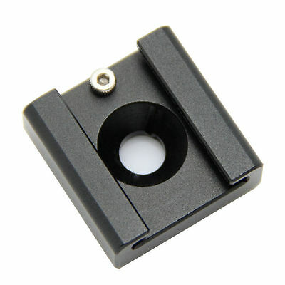 """CAMVATE Hot Cold Shoe Adapter 1/4"""" Thread Mount For DSLR Flash Light Video Cage"""