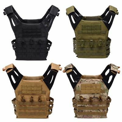 600D Military Vest Army Tactical Assault Combat Swat Camouflage Molle Hunting