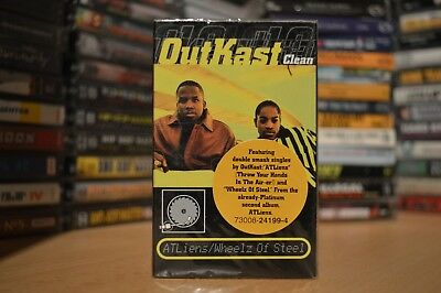 OutKast ‎– ATLiens / Wheelz Of Steel / Rap Tape / Hip-Hop Kassette / USA