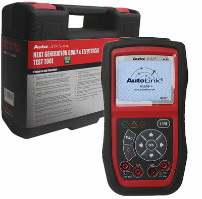Autel AutoLink AL539B OBD2 Fault Code Reader Diagnostic Tool Electrical Test
