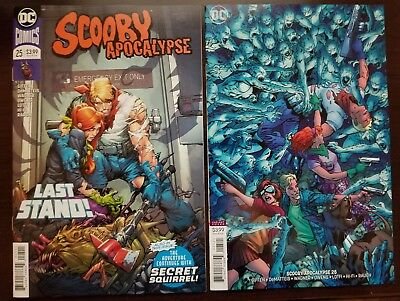 Scooby Apocalypse #25 (Cover A & B Variant) DC Comics - Death of Fred Jones