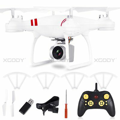 US 2.4Ghz 4CH FPV RC 6Axis Drone Hover Hold xky  Wifi 0.3MP RC Camera Quadcopter