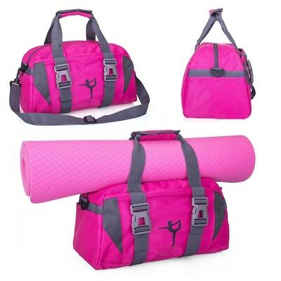 Large Sports Dance Yoga Bags Workout Gym Water Resistant Free shipping # 94