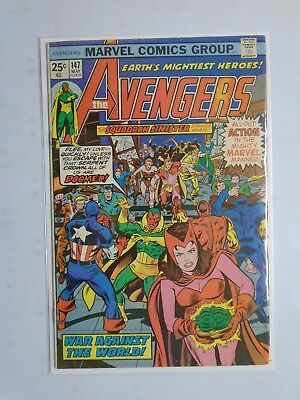 """Avengers (1st Series) #147, 5.0 (1976) """"Signed By George Perez"""""""