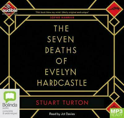 The Seven Deaths of Evelyn Hardcastle by Stuart Turton Free Shipping!