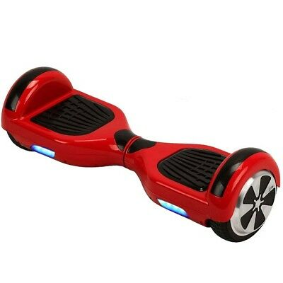 Hoverboard Scooter Electric 6.5 Self Balance Bluetooth Led Light Gyroboard  Red