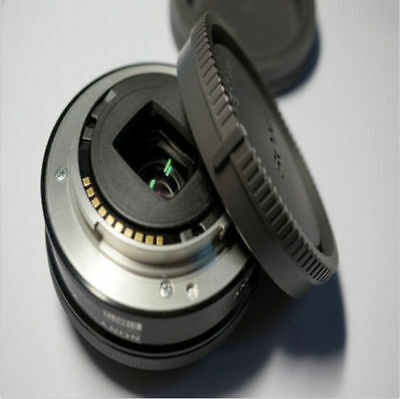 Sony Camera NEX-3 Front Body Cover for Black Tool NEX-5 E-Mount Rear Lens Cap+