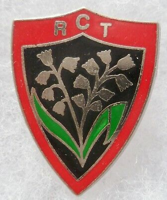 Pins Ancien Rct Toulon Rugby Club Toulonnais Original Vintage Collector