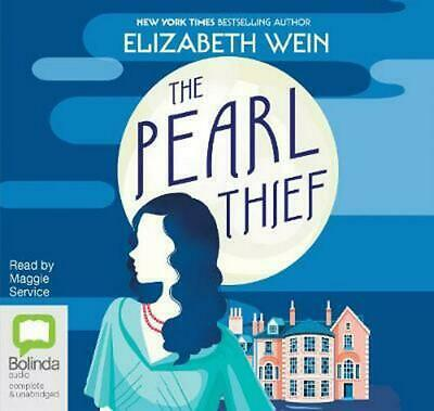The Pearl Thief by Elizabeth Wein Compact Disc Book Free Shipping!