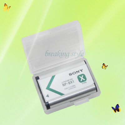 New Replacement Battery For Sony NP-BX1 Cyber-Shot DSC-RX100 RX100 RX1 BC-CSXB