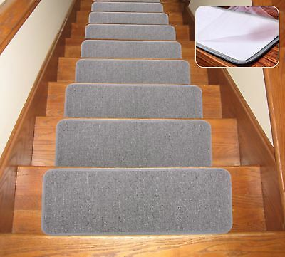 SOLOOM Carpet Stair Treads Non Slip Indoor Set Of 13 Stair Treads