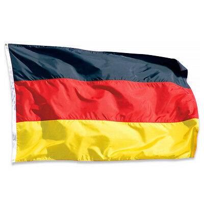 German National Flag 5 x 3FT with two Brass Eyelets