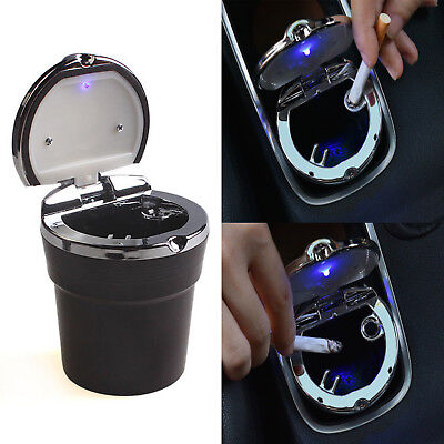 Auto Car Truck LED Cigarette Smoke Ashtray Ash Cylinder Cup Holder Precise NEW