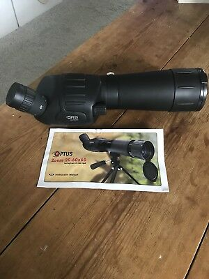 Optus Zoom Spotting Scope Zoom 20-60x60 with Carry Bag