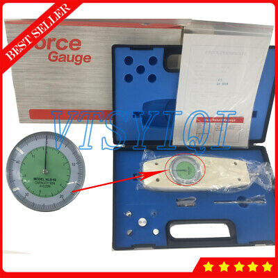 50N Analog Push Pull Force Gauge with Handheld Dynamometer Measuring Instruments