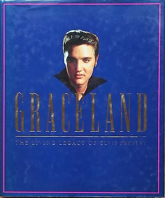 ♫ ELVIS PRESLEY  GRACELAND lge HC book OOP - in very good condition - lot 46 ♫