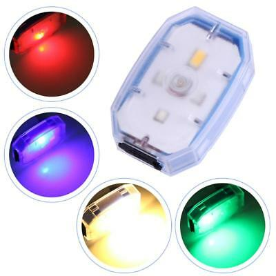 Portable Bicycle LED Warning Light  Silicone Strap Night Jogging Safety Lights