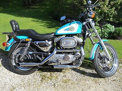 HARLEY DAVIDSON 1200 XLH SPORTSTER 1992 - Nice example