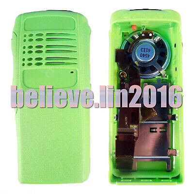 Green Housing Cover Case (Speaker +Ribbon Cable+ Mic) fit Motorola HT750 Radio