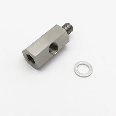 "NPT Fitting Male to Female 1/8"" To M12X1.5 Adapter Turbo Oil Pressure Sensor"