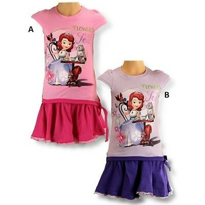 5 years PINK (110cm) Set skirt and t-shirt Sofia disney NEW the unit (Model Has)