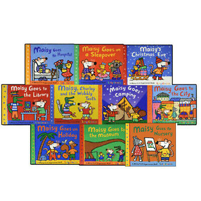 Lucy Cousin Maisy Mouse Collection 10 Books Set First Experiences Pack NEW