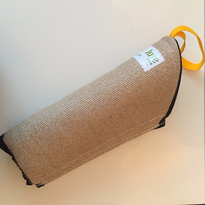 Euro Joe - Jute Bite Sleeve for Dog Training - YELLOW STRAP