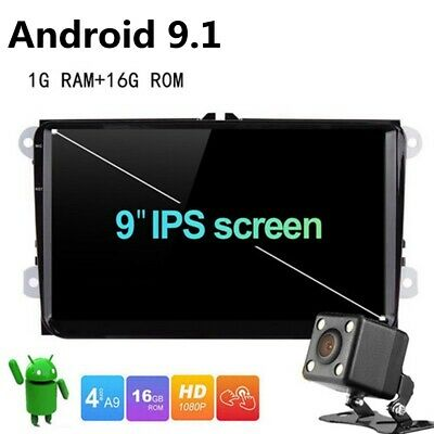 """9"""" Android 6.0 2Din Car Radio Stereo NO DVD Player GPS Multimedia Wifi VW"""