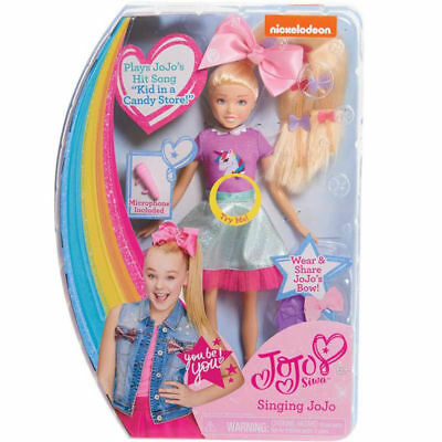 Brand New JoJo Siwa Singing Doll - Kid in a Candy Store Song with JoJo Bow