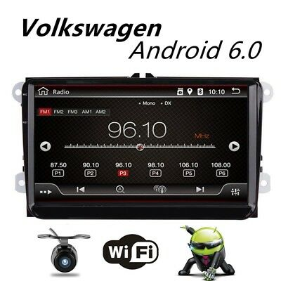 """9"""" Android 6.0 2Din Car Radio Stereo NO DVD Player GPS Multimedia Wifi  for VW"""