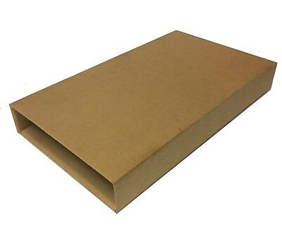 100 x Book Mailers Wrap Packaging 25 x 17.5 x 4 cm Strong Cardboard Envelope